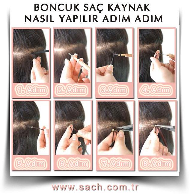 Boncuk Saç Kaynak Nasıl Yapılır